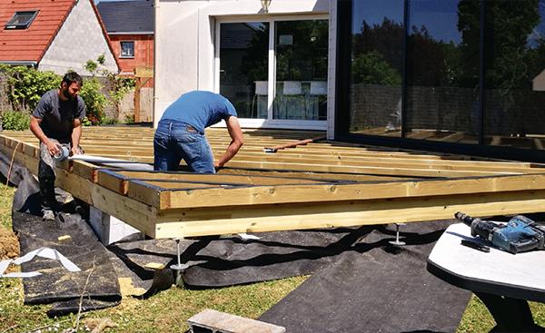 Comment construire une terrasse au sol ?