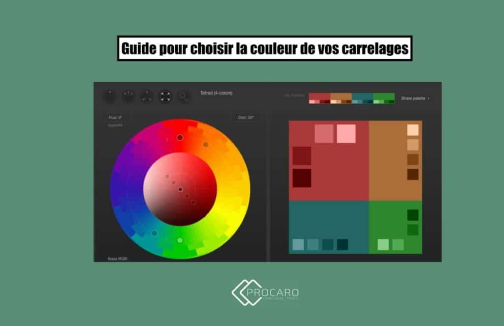 Comment choisir la couleur du carrelage ?