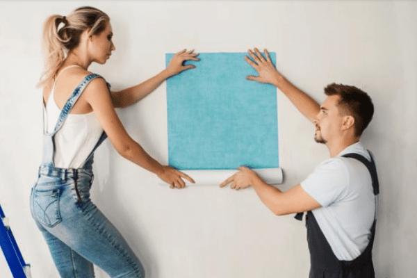 Comment rattraper du papier peint mal posé ?